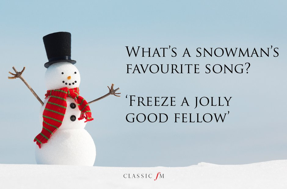 Freeze Jolly Joke - Ready to play Christmas Carols before it's too late? http://www.virtualsheetmusic.com/Christmas.html