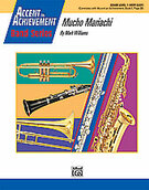Cover icon of Mucho Mariachi sheet music for concert band (full score) by Mark Williams