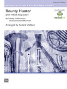 Cover icon of Bounty Hunter sheet music for concert band (full score) by Tommy Tallarico, easy skill level