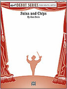 Cover icon of Salsa and Chips (COMPLETE) sheet music for concert band by Alan Stein, easy