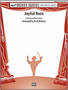 Cover icon of Joyful Rock sheet music for concert band (full score) by Anonymous and Scott Watson