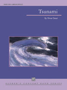 Cover icon of Tsunami sheet music for concert band (full score) by Vince Gassi