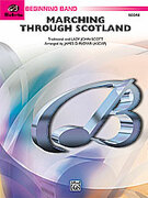 Cover icon of Marching Through Scotland sheet music for concert band (full score) by Anonymous