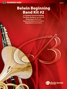 Cover icon of Belwin Beginning Band Kit #2 sheet music for concert band (full score) by Jack Bullock, Katherine Lee Bates and Samuel Augustus Ward, beginner skill level