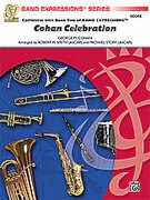 Cover icon of Cohan Celebration (COMPLETE) sheet music for concert band by George Cohan, George Cohan, Robert W. Smith and Michael Story, easy