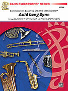 Cover icon of Auld Lang Syne sheet music for concert band (full score) by Anonymous, Robert W. Smith and Michael Story