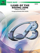 Cover icon of Land of the Rising Sun (COMPLETE) sheet music for concert band by Anonymous and Michael Story