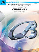 Cover icon of Currents sheet music for concert band (full score) by Robert W. Smith