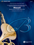 Cover icon of Wassail sheet music for concert band (full score) by Robert W. Smith