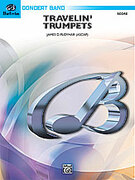 Cover icon of Travelin' Trumpets sheet music for concert band (full score) by James D. Ployhar