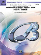 Cover icon of Heritage sheet music for concert band (full score) by Jerry Brubaker, intermediate
