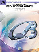Cover icon of Frolicking Winds sheet music for concert band (full score) by H. Owen Reed and William Berz