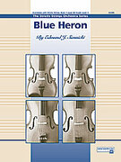 Cover icon of Blue Heron sheet music for string orchestra (full score) by Edmund J. Siennicki
