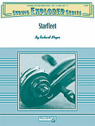 Cover icon of Starfleet sheet music for string orchestra (full score) by Richard Meyer, easy