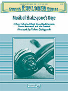 Cover icon of Musik of Shakespeare's Daye sheet music for string orchestra (full score) by Antony Holborne, Thomas Ravenscroft and John Dowland, classical score, easy skill level