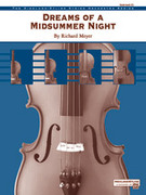 Cover icon of Dreams of a Midsummer Night sheet music for string orchestra (full score) by Richard Meyer, intermediate