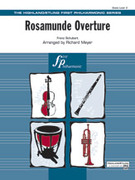 Cover icon of Rosamunde Overture sheet music for full orchestra (full score) by Franz Schubert, classical score, easy skill level