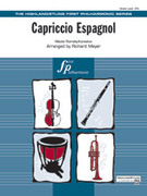 Cover icon of Capriccio Espagnol (COMPLETE) sheet music for full orchestra by Nikolai Rimsky-Korsakov, Nikolai Rimsky-Korsakov and Richard Meyer