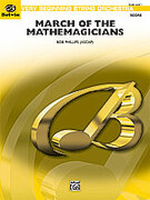 Cover icon of March of the Mathemagicians sheet music for string orchestra (full score) by Bob Phillips