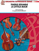 Cover icon of There Stands a Little Man (COMPLETE) sheet music for string orchestra by Anonymous