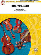 Cover icon of Cielito Lindo (COMPLETE) sheet music for string orchestra by Anonymous and Jack Bullock