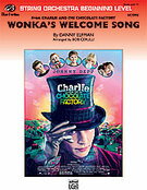 Cover icon of Wonka's Welcome Song sheet music for string orchestra (full score) by Danny Elfman