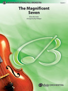 Cover icon of The Magnificent Seven sheet music for full orchestra (full score) by Elmer Bernstein, easy/intermediate skill level