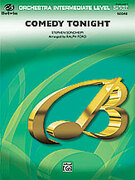 Cover icon of Comedy Tonight sheet music for full orchestra (full score) by Stephen Sondheim, easy/intermediate