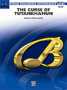 Cover icon of The Curse of Tutankhamun sheet music for string orchestra (full score) by Michael Story