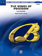 Cover icon of The Winds of Poseidon sheet music for full orchestra (full score) by Robert W. Smith