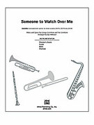 Cover icon of Someone to Watch Over Me sheet music for Choral Pax (full score) by George Gershwin