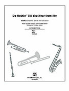 Cover icon of Do Nothin' Till You Hear from Me (COMPLETE) sheet music for Choral Pax by Bob Russell, Duke Ellington and Darmon Meader