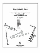 Cover icon of Blow, Gabriel, Blow sheet music for Choral Pax (full score) by Cole Porter and Philip Kern, easy/intermediate skill level