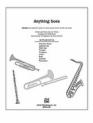 Cover icon of Anything Goes sheet music for Choral Pax (full score) by Cole Porter