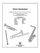 Cover icon of Winter Wonderland sheet music for Choral Pax (full score) by Felix Bernard, Greg Jasperse and Dick Smith, easy/intermediate