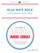Cover icon of Blue Note Rock (COMPLETE) sheet music for concert band by Sandy Feldstein