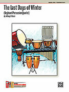 Cover icon of The Last Days of Winter (COMPLETE) sheet music for percussions by Anthony Di Sanza