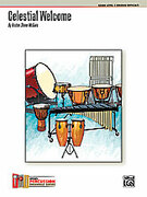 Cover icon of Celestial Welcome (COMPLETE) sheet music for percussions by Kristen Shiner McGuire