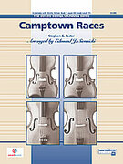 Cover icon of Camptown Races (COMPLETE) sheet music for string orchestra by Stephen Foster, Stephen Foster and Keith Christopher, easy skill level