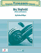 Cover icon of Hey, Shepherds! sheet music for string orchestra (full score) by Richard Meyer