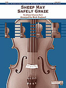 Cover icon of Sheep May Safely Graze (COMPLETE) sheet music for string orchestra by Anonymous, classical score, easy/intermediate orchestra