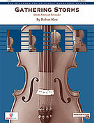 Cover icon of Gathering Storms (COMPLETE) sheet music for string orchestra by Robert Kerr
