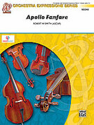 Cover icon of Apollo Fanfare (COMPLETE) sheet music for string orchestra by Robert W. Smith, easy orchestra