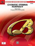 Cover icon of Chinese String Fantasy sheet music for string orchestra (full score) by Anonymous, easy