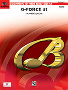 Cover icon of G-Force Five! (COMPLETE) sheet music for string orchestra by Ralph Ford
