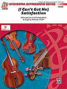 Cover icon of (I Can't Get No) Satisfaction (COMPLETE) sheet music for string orchestra by Mick Jagger