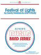 Cover icon of Festival of Lights (COMPLETE) sheet music for concert band by Sandy Feldstein and John O'Reilly