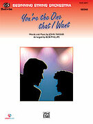 Cover icon of You're the One That I Want sheet music for string orchestra (full score) by John Farrar and Bob Phillips, easy