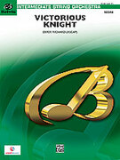 Cover icon of Victorious Knight sheet music for string orchestra (full score) by Derek Richard
