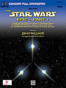 Cover icon of Suite from the Star Wars Epic -- Part I (COMPLETE) sheet music for full orchestra by John Williams and Robert W. Smith